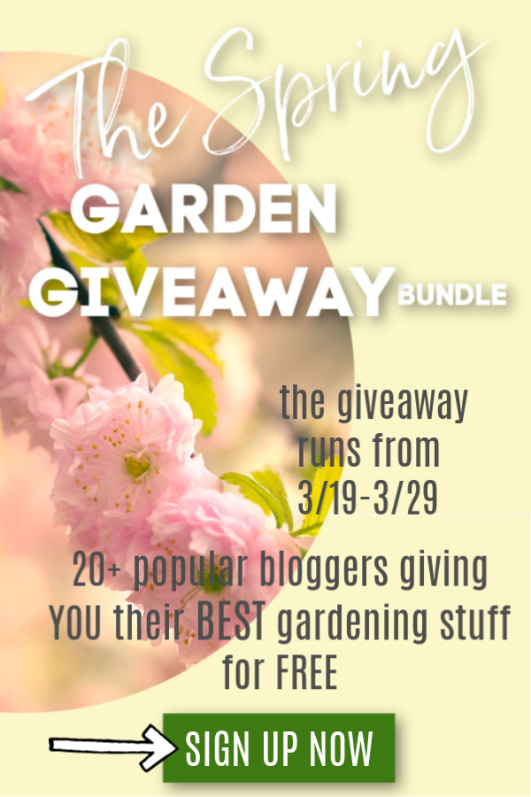 Don't miss these free gardening resources! The 2nd Annual Spring Garden Giveaway starts on March 19th, 2020